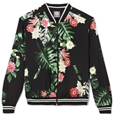 Vince Camuto Tropical-print Bomber Jacket