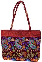 Diligence India Unique Phulkari embroidered Rajasthani Bag