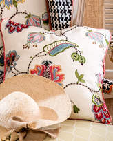 "Mackenzie Childs MacKenzie-Childs Chelsea Garden Pillow, 20""Sq."