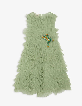 Gucci Sequin frog tulle dress 4-12 years