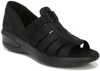 PeepToe Bzees Peep-Toe Slip-On Loafers - Frenzy
