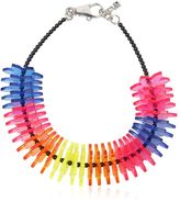 DSQUARED2 Origami Perspex Flowers Necklace