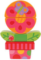 Stephen Joseph Flower Mini Wooden Stacking Puzzle