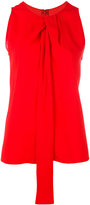 Maison Margiela twist front sleeveless blouse - women - Spandex/Elastane/Viscose - 40