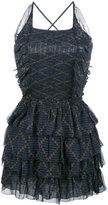 Etoile Isabel Marant ruffle skirt skater dress - women - Silk/Viscose - 40