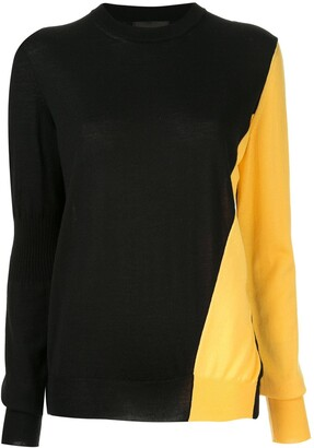 Calvin Klein Two-Tone Jumper