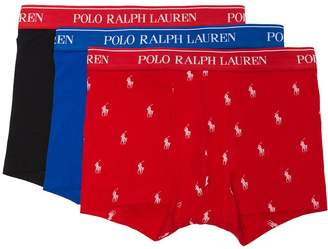 Polo Ralph Lauren three pack logo boxer trunks