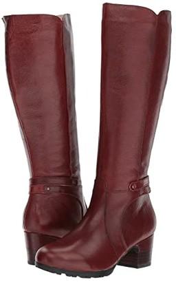 Jambu Chai (Black Full Grain Tumbled Leather) Women's Boots