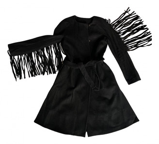 Vionnet Black Wool Coats