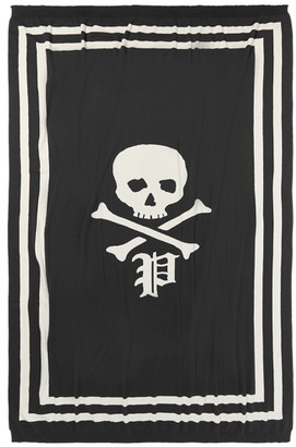 Ralph Lauren Skull-and-Bones Throw Blanket