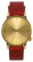 Komono Regal Red Strap Watch