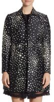 RED Valentino Faille Star Print Topper