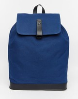 Asos Backpack With Sleek Fastening