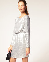 ASOS Sequin Dress with Long Sleeves