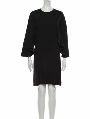 Chloé Crew Neck Knee-Length Dress w/ Tags Black
