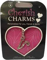 Mulberry Cherish Charms By Studios, Initial V