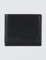 McQ by Alexander McQueen Embossed Fold Wallet