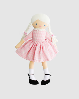 Alimrose - Girl's Pink Plush dolls - Beth Doll 40cm - Size One Size at The Iconic