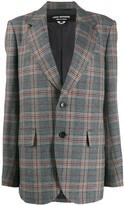 Junya Watanabe oversized plaid blazer