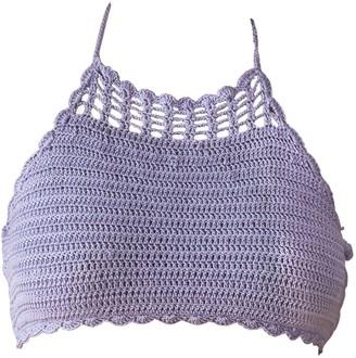 Crokini Swim Jia Bikini Top In Lilac