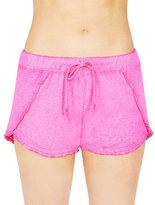 Betsey Johnson Ruffled Hem Shorts