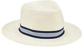 John Lewis Herringbone Paper Ambassador Hat, White