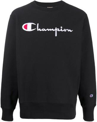Champion Embroidered Logo Sweatshirt