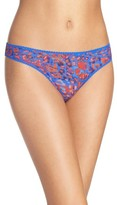 OnGossamer Women's 'Triple Twist' Mesh Thong