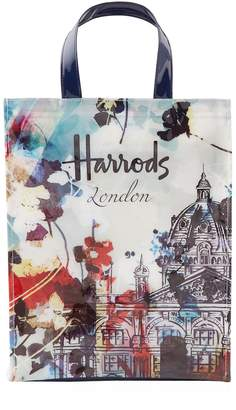 Harrods Medium Watercolour Shopper Bag