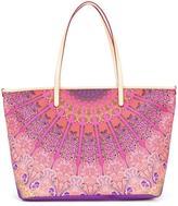 Etro scarf print tote bag - women - Cotton/Polyester/PVC - One Size