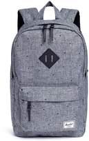 Herschel Kids 'Heritage' polka dot print canvas mid-volume 14.5L backpack
