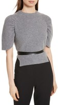 RED Valentino Women's Belted Carded Wool Sweater