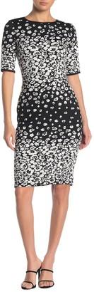 Taylor Floral Print Jacquard Dress