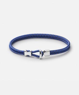 Miansai Orson Loop Bungee Rope Bracelet in Cobalt Blue