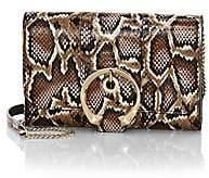 Jimmy Choo Women's Mini Madeline Snakeskin Wallet-On-Chain