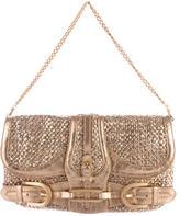 Jimmy Choo Metallic Tulita Bag