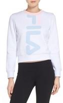 Fila Women's Mona Logo Crop Sweatshirt