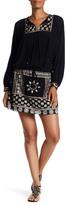 Hale Bob Long Sleeve Embroidered Dress