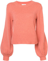 Chloé ribbed bell sleeve sweater