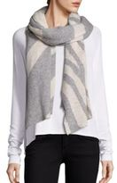 White + Warren Intarsia Travel Scarf