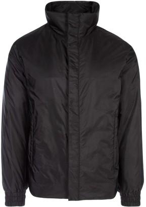 Prada Logo High Collar Nylon Jacket