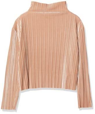 MinkPink Women's Pleated Velvet T - Shirt