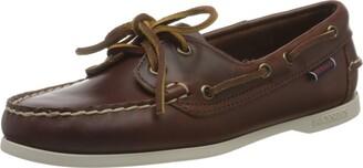 Sebago Women's Jacqueline Waxy W 71111HW Boat Shoes (Brown 900) 3.5 UK