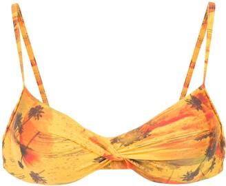 Lygia & Nanny Wrap Style Bikini Top