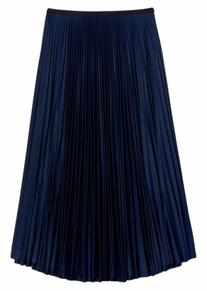 Lacoste Women's Pleated Midi Skirt