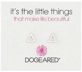 Dogeared It's The Little Things Open Triangle Earrings Earring