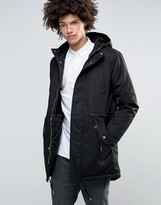 Minimum Wrexford Hooded Parka Fake Fur And Padded Lining