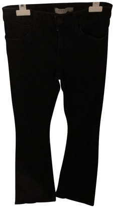 Sandro Black Cotton - elasthane Jeans for Women