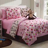 Victoria Classics monkey reversible comforter set