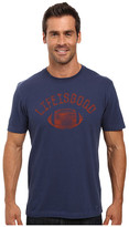 Life is Good Football Crusher Tee